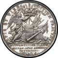 Betts Medals, Betts-101. 1702 American Treasure Captured at Vigo. Silver.Lettered edge. XF....