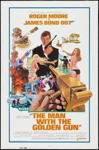 "The Man with the Golden Gun (United Artists, 1974). International One Sheet (27"" X 41""). James Bond"
