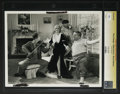 "Movie Posters:Comedy, Movie Maniacs - Culver Pictures (Columbia, 1936). Still (8"" X 10""). The Three Stooges and Mildred Harris. Comedy. Starring t..."