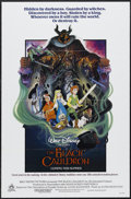 "Movie Posters:Animated, The Black Cauldron (Buena Vista, 1985). One Sheet (27"" X 41""). Animated. Starring the voices of Grant Bardsley, Susan Sherid..."
