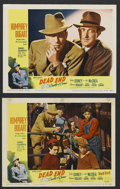 "Movie Posters:Crime, Dead End (United Artists, R-1954). Lobby Cards (2) (11"" X 14"").Crime. Starring Humphrey Bogart, Sylvia Sidney, JŒl McCrea ...(Total: 2 Items)"