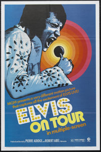 """Elvis on Tour (MGM, 1972). One Sheet (27"""" X 41""""). Documentary. Starring Elvis Presley. Directed by Robert Abel..."""