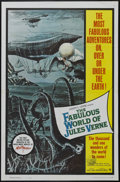 """Movie Posters:Fantasy, The Fabulous World of Jules Verne (Warner Brothers, 1961). OneSheet (27"""" X 41""""). Sci Fi Adventure. Starring Lou Tock, Ernie..."""