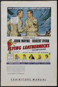 Movie Posters:War, Flying Leathernecks (RKO, 1951). Pressbook (Multiple Pages). War.Starring John Wayne, Robert Ryan, Don Taylor, Janis Carter...