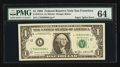 Error Notes:Major Errors, Fr. 1913-L $1 1985 Federal Reserve Note. PMG Choice Uncirculated64.. ...