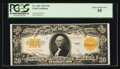 Large Size:Gold Certificates, Fr. 1187 $20 1922 Gold Certificate PCGS Choice About New 55.. ...