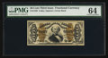 Fractional Currency:Third Issue, Fr. 1339 50¢ Third Issue Spinner Type II PMG Choice Uncirculated 64.. ...
