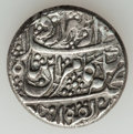 Islamic Dynasties, Islamic Dynasties: Qajar and Duranni Dynasties, lot of two (2)silver medallions and one (1) rupee. ... (Total: 3 coins)