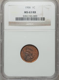 Indian Cents: , 1906 1C MS63 Red and Brown NGC. NGC Census: (230/1106). PCGSPopulation (184/655). Mintage: 96,022,256. Numismedia Wsl. Pri...