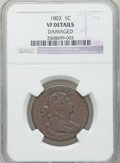 Large Cents: , 1802 1C -- Damaged -- NGC Details. VF. NGC Census: (25/223). PCGSPopulation (36/288). Mintage: 3,435,100. Numismedia Wsl. ...