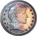 Proof Barber Quarters, 1899 25C PR67+ PCGS....