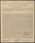 Autographs:Letters, 1964 Theodore S. Williams Signed Life Insurance Policy....