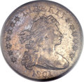 Early Dollars, 1801 $1 AU50 PCGS Secure. B-2, BB-212, R.3....