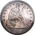 Proof Seated Dollars, 1863 $1 PR62 PCGS....