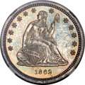 Proof Seated Quarters, 1862 25C PR65 NGC....