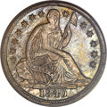 Seated Half Dimes, 1840-O H10C No Drapery MS63 PCGS....
