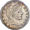 Barber Quarters, 1896-S 25C -- Improperly Cleaned -- NGC Details. XF....