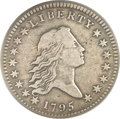 Early Half Dollars, 1795 50C 2 Leaves VF25 PCGS. O-104, R.4....