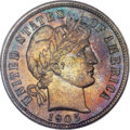 Proof Barber Dimes, 1905 10C PR67 PCGS Secure. CAC....