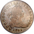 Early Dollars, 1796 $1 Small Date, Small Letters VF25 PCGS. B-2, BB-63, R.4....