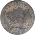 Early Dollars, 1796 $1 Small Date, Large Letters VF20 PCGS. B-4, BB-61, R.3....