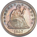 Seated Quarters, 1857 25C MS66 NGC....
