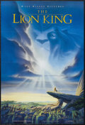 "Movie Posters:Animated, The Lion King (Buena Vista, 1994). One Sheet (27"" X 41""). AnimatedMusical. Starring the voices of Jonathan Taylor Thomas, M..."