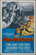 "Movie Posters:Adventure, Moonfleet (MGM, 1955). One Sheet (27"" X 41""). Adventure. StarringStewart Granger, George Sanders, Joan Greenwood, Viveca Li..."