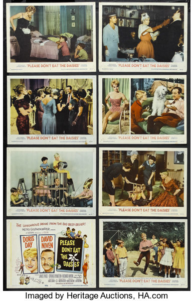 Please Don T Eat The Daisies Mgm 1960 Lobby Card Set Of 8 11 Lot 25187 Heritage Auctions
