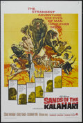 "Movie Posters:Adventure, Sands of the Kalahari (Paramount, 1965). One Sheet (27"" X 41"").Adventure. Starring Stuart Whitman, Stanley Baker, Susannah ..."