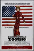 "Movie Posters:Comedy, Tootsie (Columbia, 1982). One Sheet (27"" X 41"") Style B. Romantic Comedy. Starring Dustin Hoffman, Jessica Lange, Teri Garr,..."