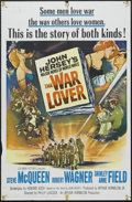 "Movie Posters:War, The War Lover (Columbia, 1962). One Sheet (27"" X 41""). War.Starring Steve McQueen, Robert Wagner, Shirley Ann Field and Gar..."