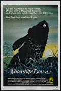 "Movie Posters:Animated, Watership Down (AVCO Embassy Pictures, 1978). One Sheet (27"" X41""). Animated Drama. Starring the voices of John Hurt, Richa..."