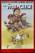 "Movie Posters:War, The Wild Geese (Allied Artists, 1978). One Sheet (27"" X 41""). War.Starring Richard Burton, Roger Moore, Richard Harris, Har..."