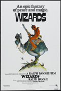 "Movie Posters:Animated, Wizards (Twentieth Century Fox, 1977). One Sheet (27"" X 41"") StyleA. Animation. Starring the voices of Bob Holt, Jesse Well..."