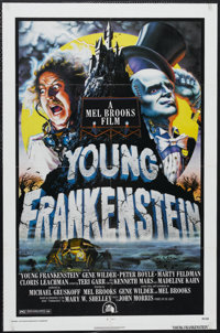 "Young Frankenstein (Universal, 1974). One Sheet (27"" X 41"") Style B. Comedy. Starring Gene Wilder, Madeline Ka..."