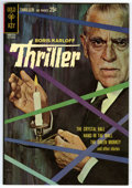 Silver Age (1956-1969):Mystery, Boris Karloff Thriller #1 File Copy (Gold Key, 1962) Condition: NM.Photo cover. Alberto Giolitti art. Overstreet 2006 NM- 9...