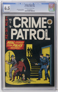 Crime Patrol #9 (EC, 1948) CGC FN+ 6.5 Off-white to white pages. Johnny Craig and Al Feldstein art. Overstreet 2006 FN 6...