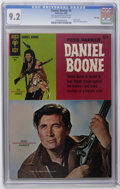 Silver Age (1956-1969):Adventure, Daniel Boone #5 File Copy (Gold Key, 1966) CGC NM- 9.2 Off-white to white pages. Fess Parker photo cover. Back cover photo p...