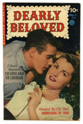 "Golden Age (1938-1955):Romance, Dearly Beloved #1 Davis Crippen (""D"" Copy) pedigree (Ziff-Davis,1952) Condition: VG/FN. Photo cover. Only issue of the titl..."