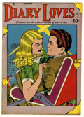 "Golden Age (1938-1955):Romance, Diary Loves #2 Davis Crippen (""D"" Copy) pedigree (Quality, 1949)Condition: VF. Bill Ward cover and art. Overstreet 2006 VF ..."