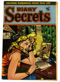 "Golden Age (1938-1955):Romance, Diary Secrets #20 Davis Crippen (""D"" Copy) pedigree (St. John,1953) Condition: VF. Matt Baker cover. Overstreet 2006 VF 8.0..."