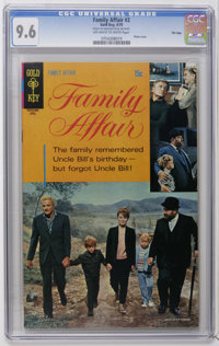 Family Affair #2 File Copy (Gold Key, 1970) CGC NM+ 9.6 Off-white to white pages. Photo cover. Overstreet 2006 NM- 9.2 v...