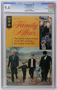 Family Affair #2-4 File Copies CGC Group (Gold Key, 1970). Contains CGC NM 9.4 copies of #2, 3, and 4. All have photo co...