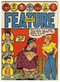 Golden Age (1938-1955):Superhero, Feature Comics #55 Mile High pedigree (Quality, 1942) Condition: VF/NM. Overstreet 2006 VF/NM 9.0 value = $208; NM- 9.2 valu...