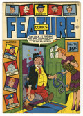 Golden Age (1938-1955):Humor, Feature Comics #76 Mile High pedigree (Quality, 1944) Condition: VF/NM. Overstreet 2006 VF/NM 9.0 value = $151; NM- 9.2 valu...