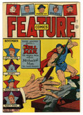 Golden Age (1938-1955):Superhero, Feature Comics #83 Mile High pedigree (Quality, 1944) Condition: NM-. Doll Man cover. Overstreet 2006 NM- 9.2 value = $185. ...