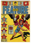 Golden Age (1938-1955):Superhero, Feature Comics #86 Mile High pedigree (Quality, 1945) Condition: NM. Doll Man cover. Overstreet 2006 NM- 9.2 value = $185. ...