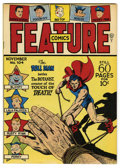 Golden Age (1938-1955):Superhero, Feature Comics #104 Mile High pedigree (Quality, 1946) Condition: NM+. Doll Man cover. Overstreet 2006 NM- 9.2 value = $140....
