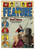 Golden Age (1938-1955):Superhero, Feature Comics #126 Mile High pedigree (Quality, 1948) Condition: NM-. Doll Man cover. Overstreet 2006 NM- 9.2 value = $140....